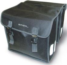 Basil Bicycle Bag Mara - Double Bag 35L Black XL