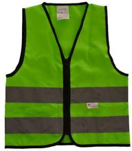 OXC Reflexväst - XS Grön Junior