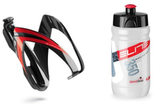 Kit Flaska & flaskställ CEO - 350ml röd
