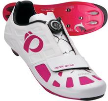 Skor Elite Road IV Dam - vit/pink punch 37.0