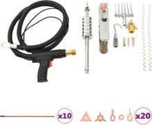vidaXL værktøjssæt til reparation af metalplader 119 dele