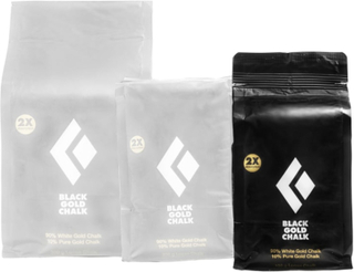 Black Diamond 100g Black Gold Chalk klätterutrustning Grå OneSize