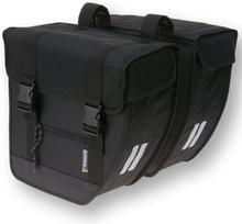 Basil Bicycle Bag Tour - Double Bag 26L Black