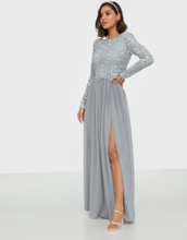 NLY Eve Lace Trim LS Gown