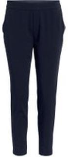 OBJECT COLLECTORS ITEM Enkle Cropped Bukser Kvinder Blå