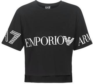 Emporio Armani EA7 T-shirts m. korte ærmer TRAIN SHINY W CROP TEE SS RN Emporio Armani EA7