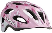 Lazer hjälm P'Nut MIPS - rosa blommor +net 46-50cm