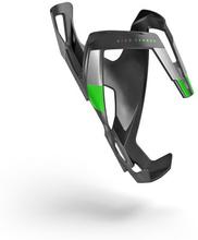Flaskställ Elite Vico - Carbon mat, grön graphic
