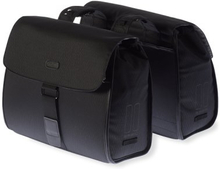 Basil Bicycle Bag Noir - Double bag 38L Black