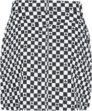 Hell Bunny - Pokerface Mini Skirt -Kort skjørt - svart-hvit