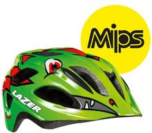 Lazer hjälm P'Nut MIPS - Dragon grön 46-50cm