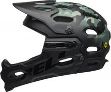 BELL SUPER 3R MIPS Mat Black/Dark Green/OAK, S