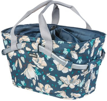 Basil Basket Rear Magnolia - Teal Blue