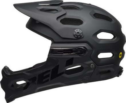 BELL SUPER 3R MIPS Mat Black/Grey, M