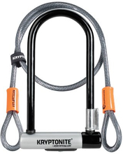 Bygellås med kabel Kryptolok 2 - 10.2cmx22.9cm 120cm kabbl