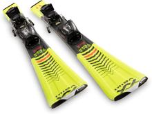 Völkl Racetiger Jr + vMotion 4.5 Barn Slalomskidor Gul 110