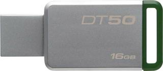 Kingston DT50 USB-flashdrev 16 GB Sølv DT50/16GB USB 3.1