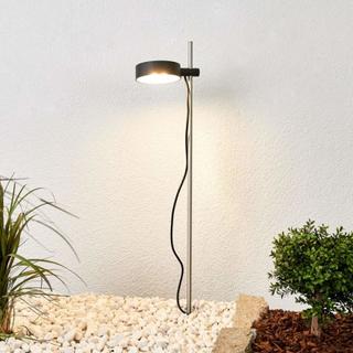 Bega LED-lampe Evan med jordspyd og dreibart hode