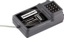 3-kanals modtager Modelcraft FS-GR3C 2,4 GHz Stiksystem JR/Futaba