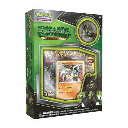 Pokémon Pokemon TCG: Zygarde Forme-komplet Pin indsamlingskasse - Fruugo