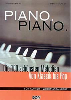 Hage Musikverlag Piano Piano Vol.1 Easy +CD