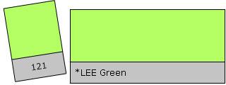 Lee Colour Filter 121 LEE Green