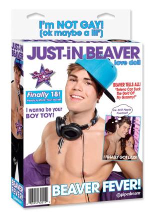 Dmuchana Lalka Just In Beaver 2 Otwory (Justin Biber)   100% DYSKRECJI   BEZPIECZNE ZAKUPY