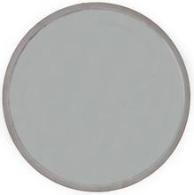 Velvet rund spegel 60cm - Puderrosa sammet