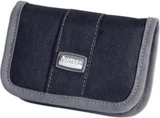 Hukommelseskort-etui Hama 49916 SD-kort, MemorySick® PRO Duo-kort, CF-kort Sort-grå