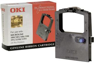OKI Farvebånd 09002309 Original ML380 ML385 ML390 ML391 ML3390 ML3391 Passer til printere af mærket: OKI Sort 1 stk