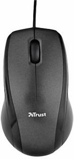 Trust Carve USB-mus Optisk Sort