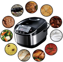 RUSSELL HOBBS Cook @ Home 21850-56 Electric Multicooker - musta