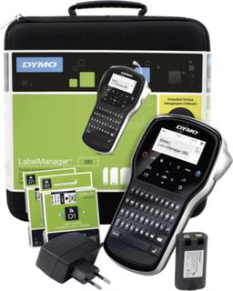 DYMO LabelManager 280 Kit Labelprinter Velegnet til skriftbånd: D1 6 mm, 9 mm, 12 mm