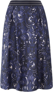 Kjol 100% silke från Windsor lila
