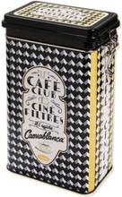 Plåtburk Kaffeburk 'Café Club'