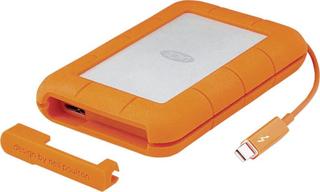 Ekstern harddisk 6,35 cm (2,5) LaCie Rugged Thunderbolt USB 3.0, Thunderbolt 2 TB Sølv, Orange