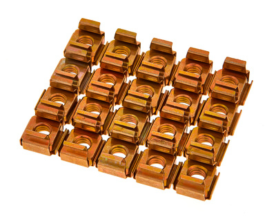 Adam Hall 5652 Rack Nut M6 Pack