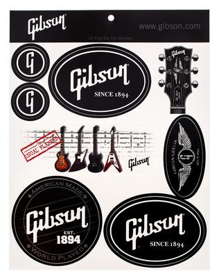 Gibson Logo Stickers