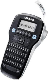 DYMO Labelmanager 160 Märkmaskin Lämplig för tejp: D1 6 mm, 9 mm, 12 mm