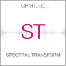 Ina-GRM GRM Tools Spectral Transform 3