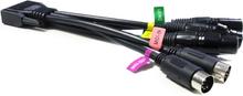 Enttec PRO2 DB15- 3DMX+2MIDI Cable