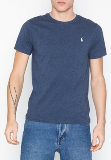 Polo Ralph Lauren SSCNCMSLM2-Short Sleeve-T-Shirt T-skjorter og singleter Blue