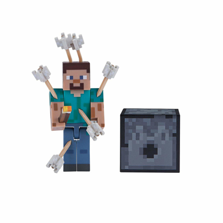 Minecraft Steve with Arrows - CDON.COM