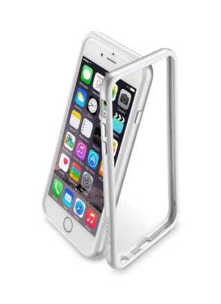 Cellularline bumper till iPhone 6/6S - Silver