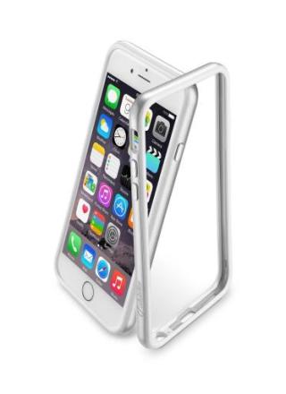 Cellularline bumper till iPhone 6/6S - Silver
