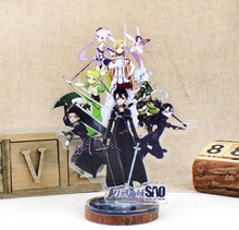 Anime Sword Art Online Display Big Stand Figure Model Plate Holder Japanese Cartoon SAO Figure Collection Jewelry Christmas Gift