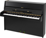 Sauter Piano, used, black satin