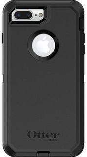 Otterbox Defender Outdoor mobiltelefonlomme iPhone 7 Plus, iPhone 8 Plus Sort