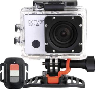 Denver ACG-8050W Action Cam Full-HD, Stænkvandsbeskyttet, Stødsikker, Vandtæt, WLAN, GPS