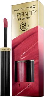 Kjøp Max Factor Lipfinity Lip Colour, 125 So Glamorous Max Factor Leppestift Fri frakt